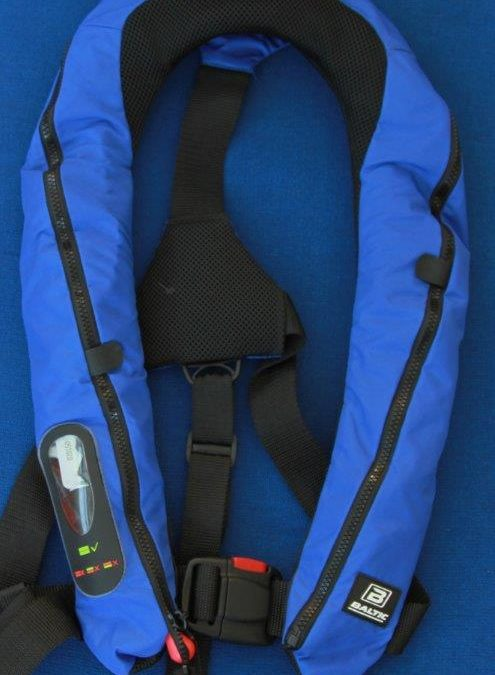 Baltic Lifejackets are now approved with the inclusion of a lifesaver